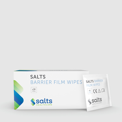 Salts Barrier Film Wipes