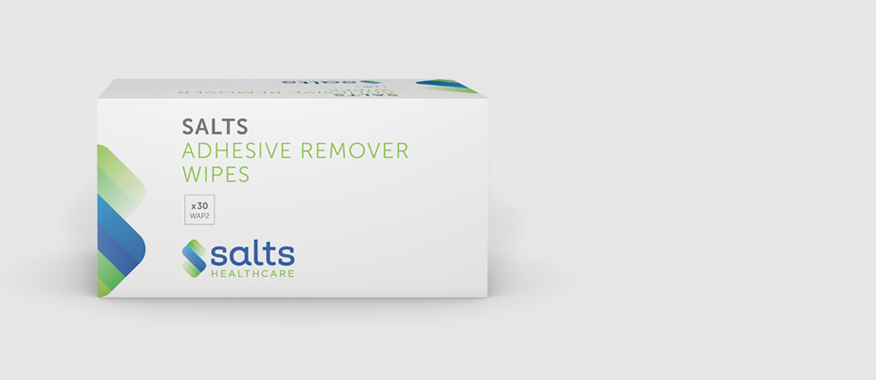 Salts Adhesive Remover Wipes